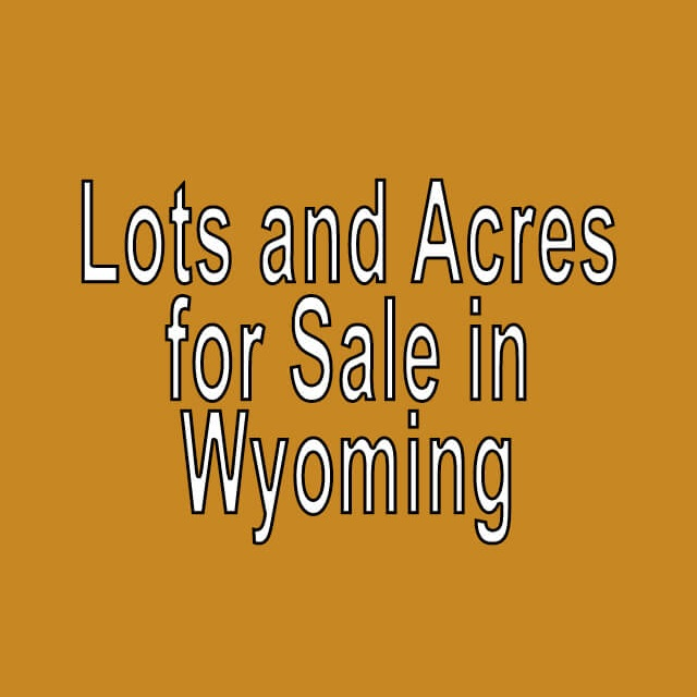 buy cheap land in wyoming