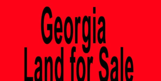 cheap land for sale in georgia