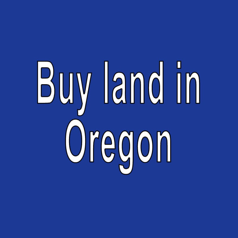 land for sale in oregon