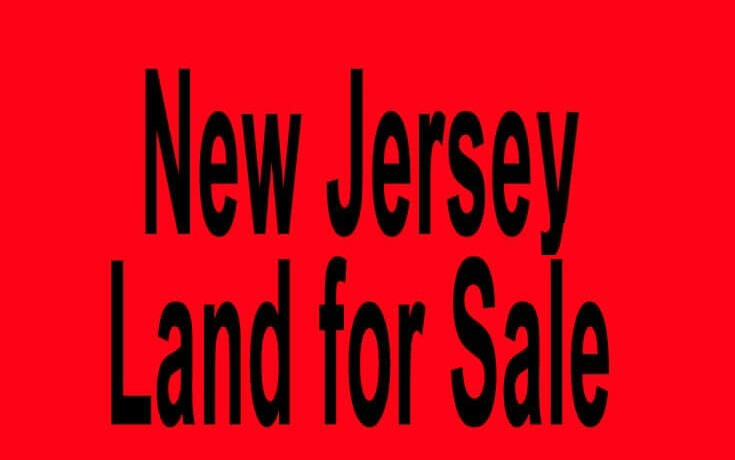 new jersey land for sale