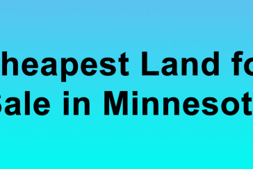 Cheapest Land for Sale in Minnesota Buy Land in Minnesota Cheapest MN Land for Sale