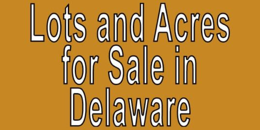land for sale by owner in delaware