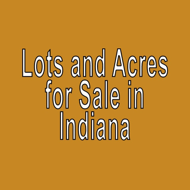 Buy Cheap Land in Indiana