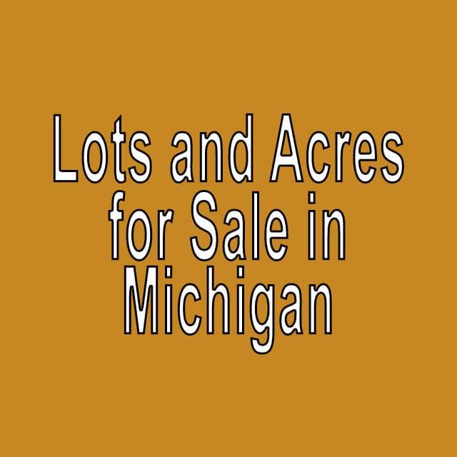 Buy Cheap Land in Michigan