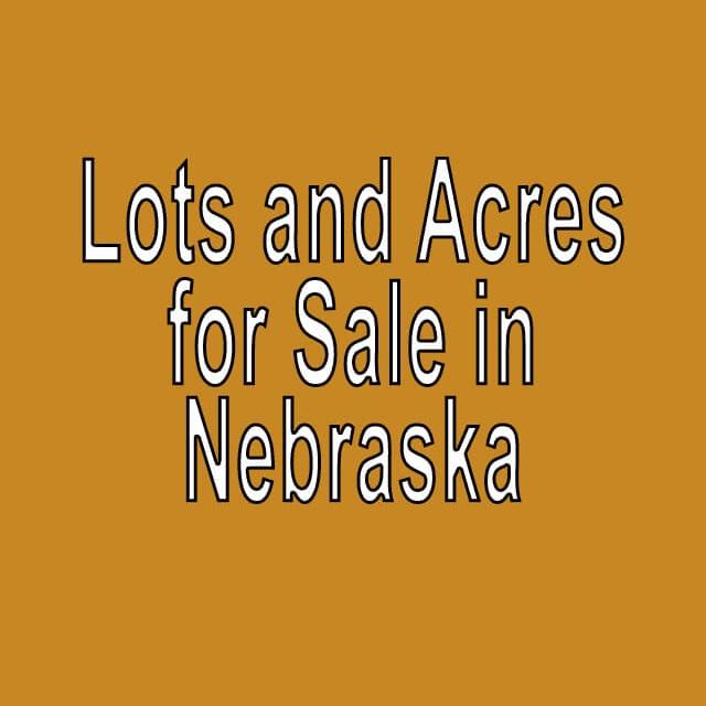 Buy Cheap Land in Nebraska