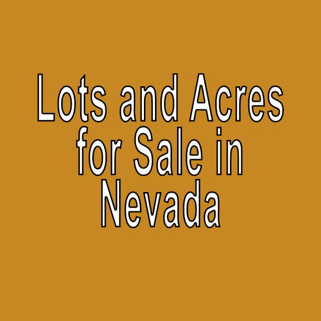 Buy Cheap Land in Nevada