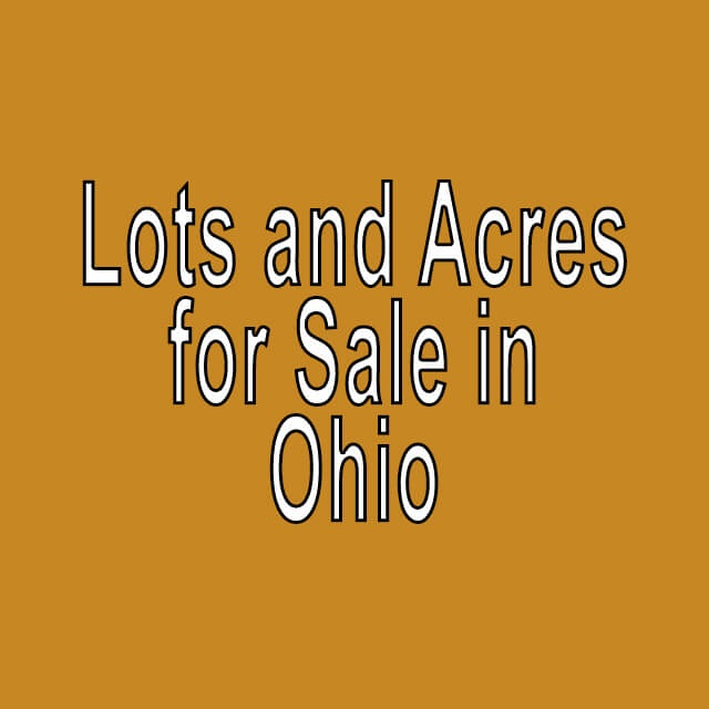 Buy Cheap Land in Ohio