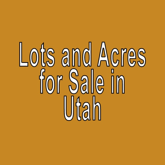 Buy Cheap Land in Utah