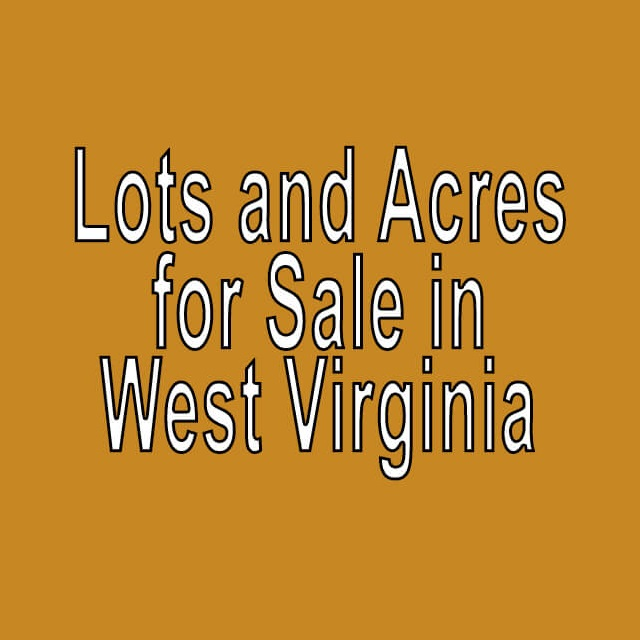 Buy Cheap Land in West Virginia