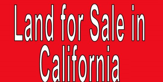 Buy Land in California. Search land listings in California. CA land for sale.