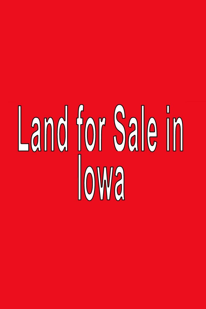 Buy Land in Iowa