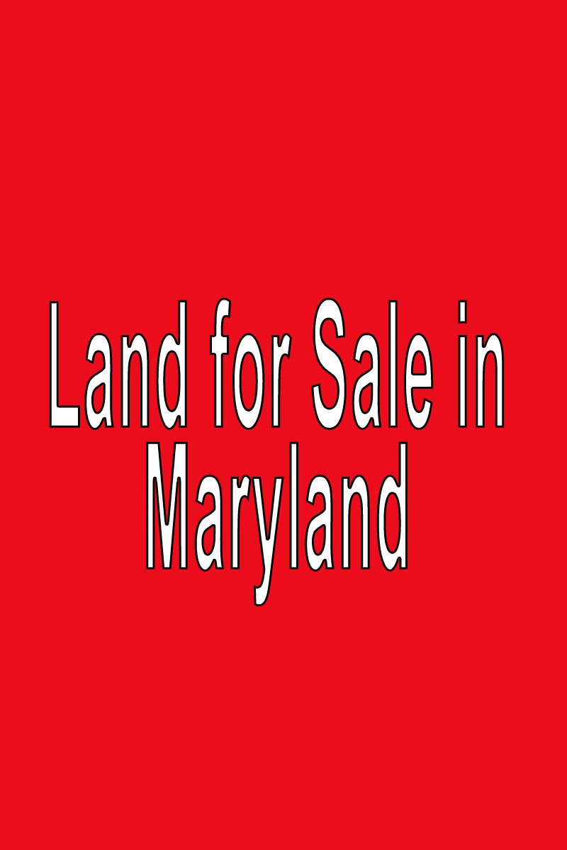 buy land in maryland