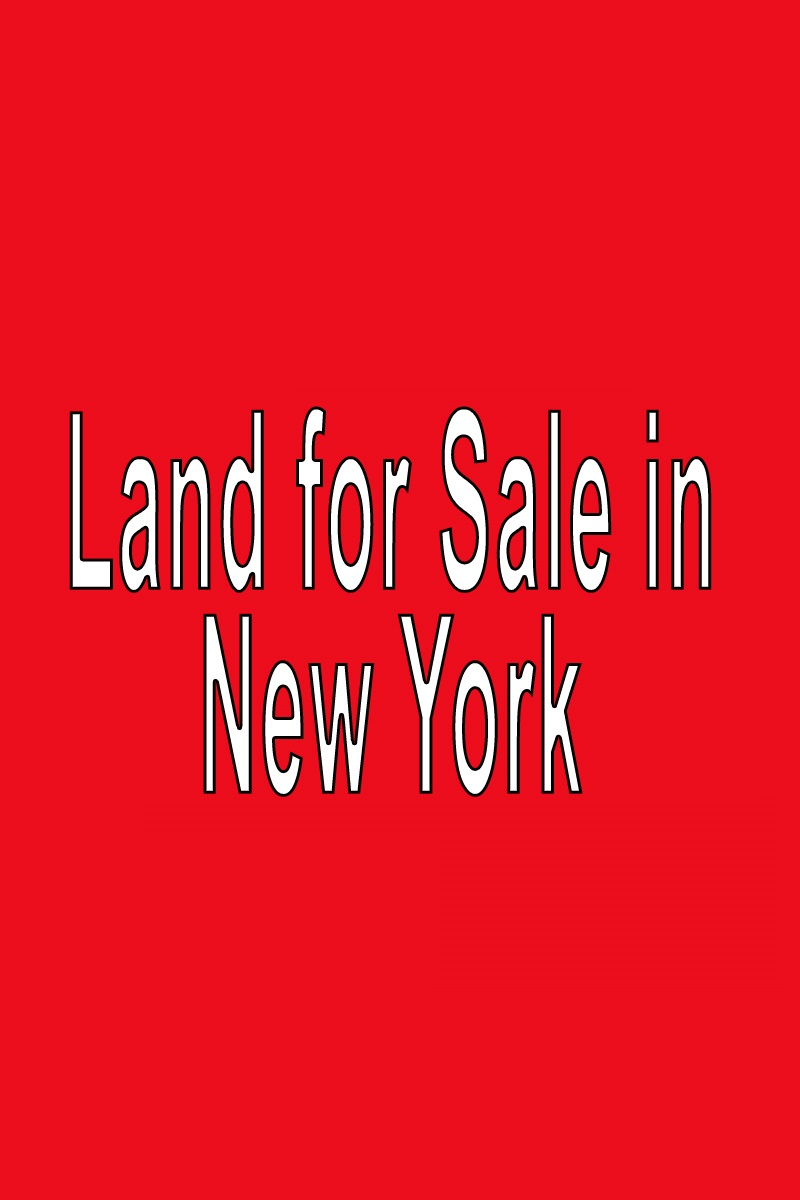Buy Land In New York