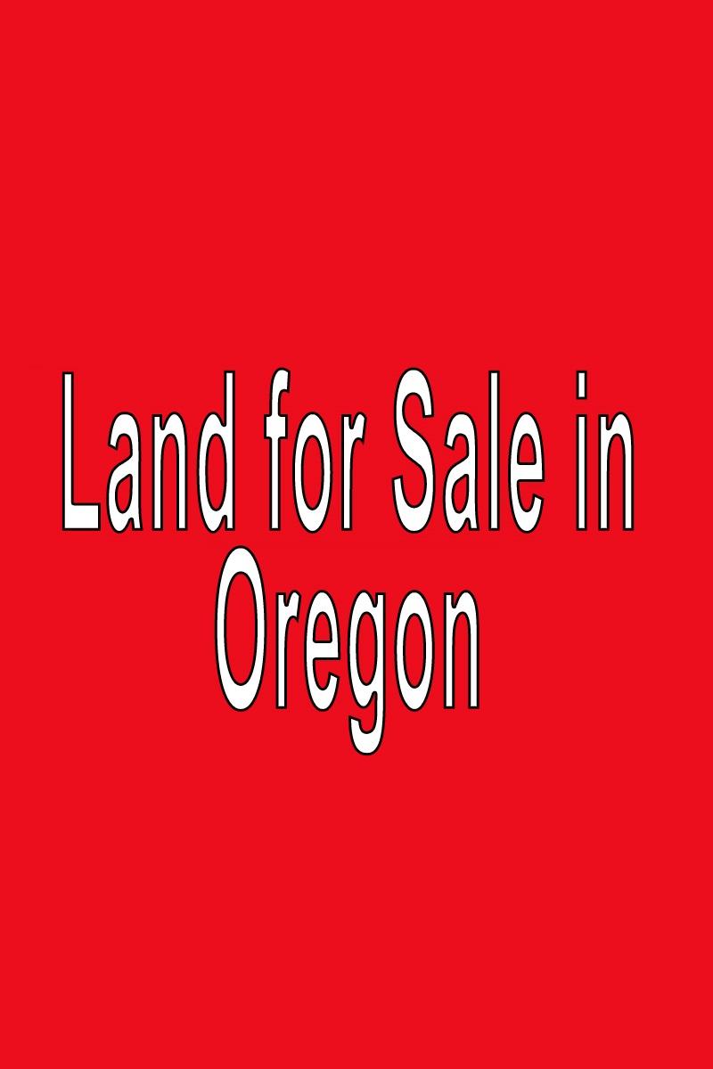 Buy Land in Oregon