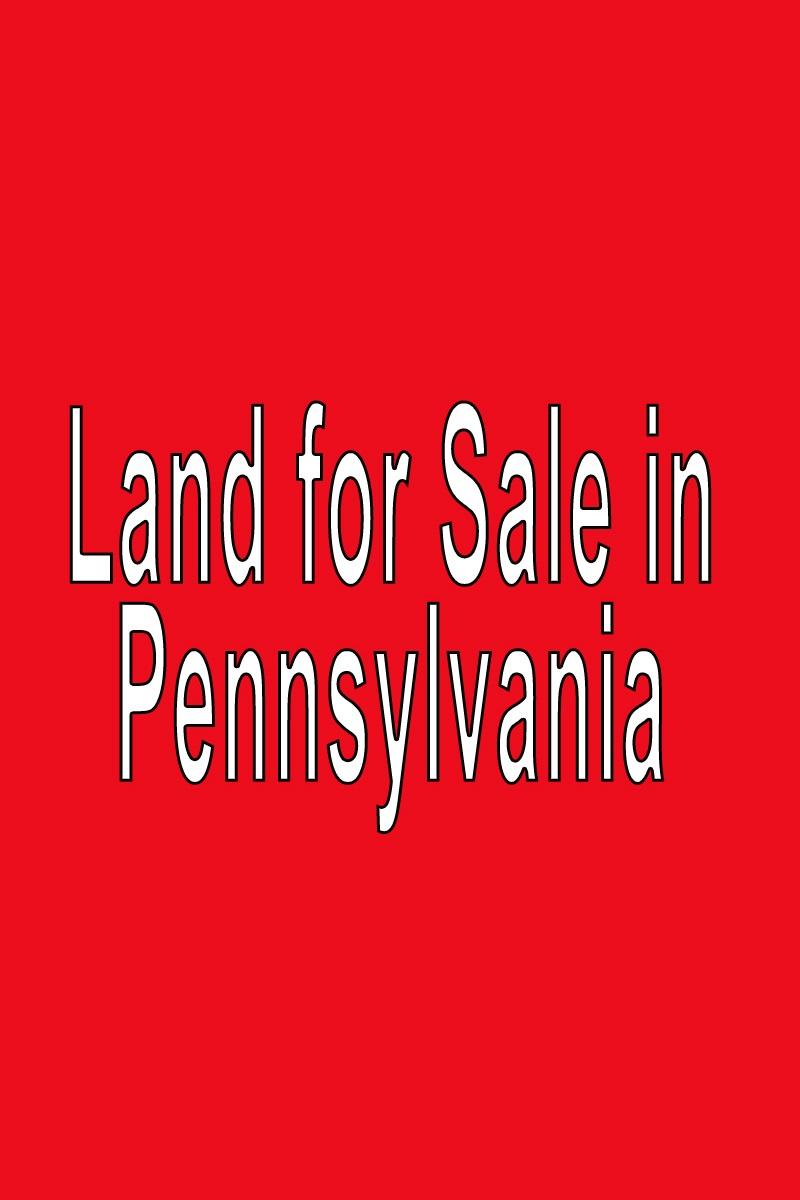 Buy Land in Pennsylvania