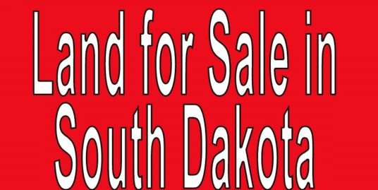 Buy Land in South Dakota. Search land listings in South Dakota. SD land for sale