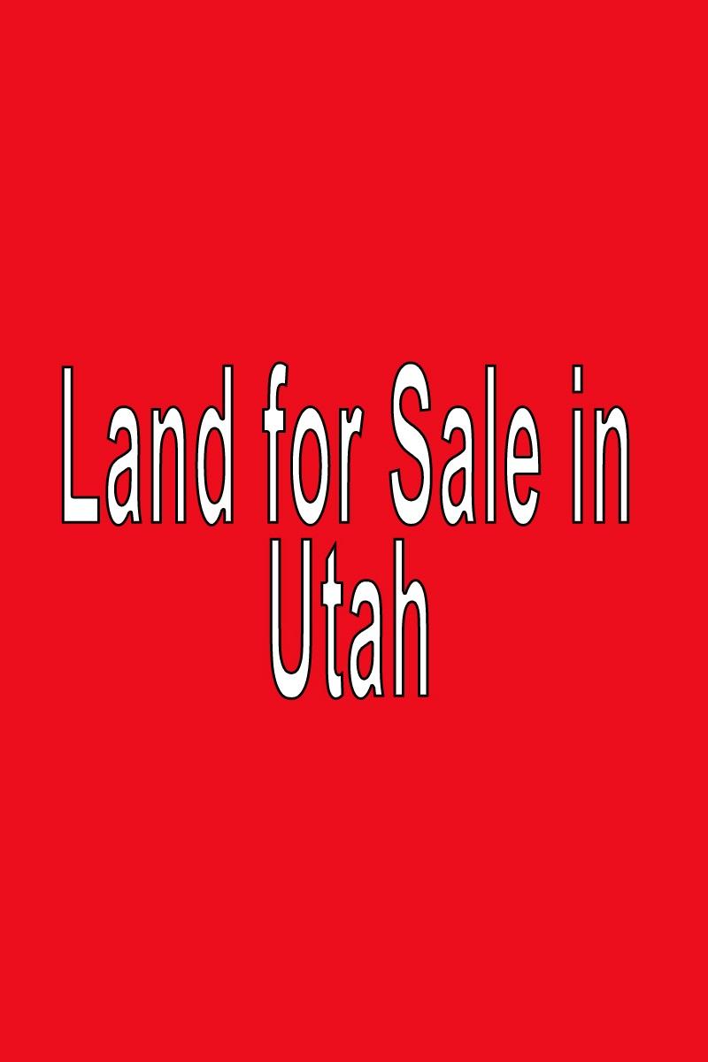 Buy Land in Utah