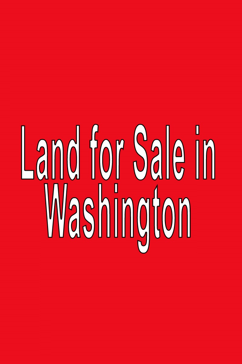 Buy Land in Washington