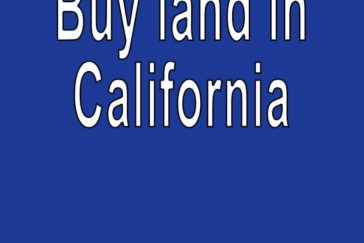 Land for sale in California Search real estate land for sale in California Buy cheap land for sale in California