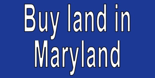 Land for sale in Maryland Search real estate land for sale in Maryland Buy cheap land for sale in Maryland
