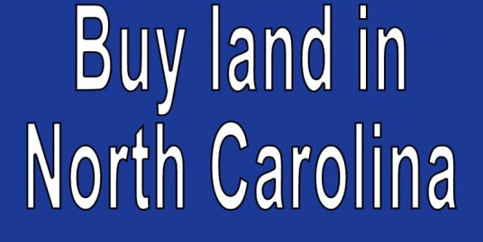 Land for sale in North Carolina Search real estate land for sale in North Carolina Buy cheap land for sale in North Carolina