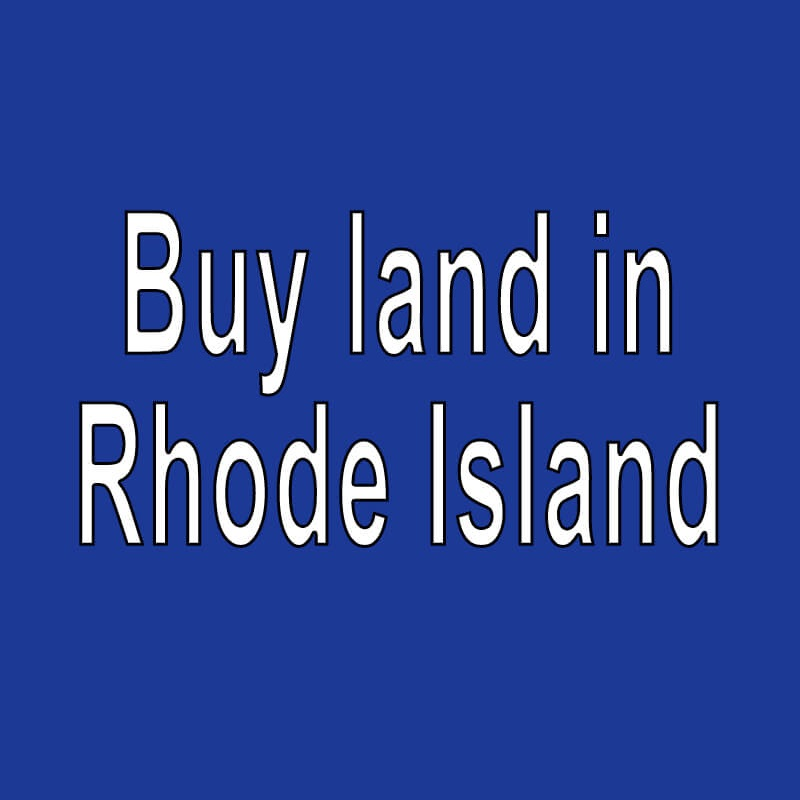 Land for Sale in Rhode Island