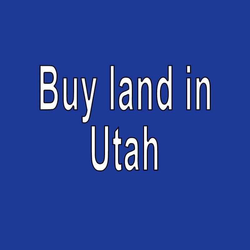 Land for Sale in Utah
