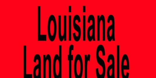 Louisiana land for sale New Orleans LA Shreveport LA Buy Louisiana land for sale in New Orleans LA Shreveport LA Buy land in LA