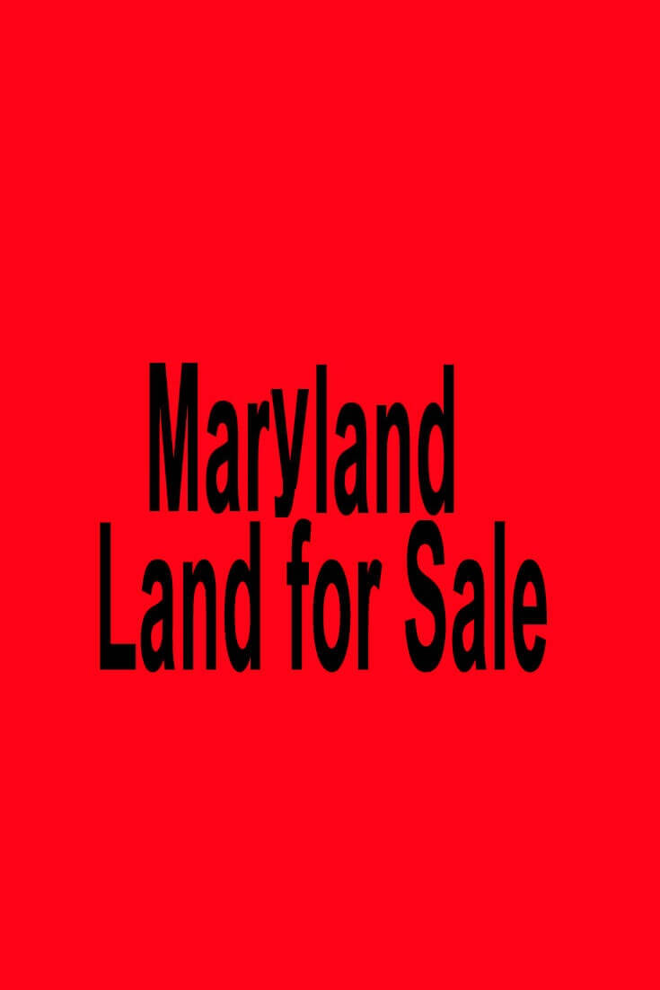 Maryland Land For Sale