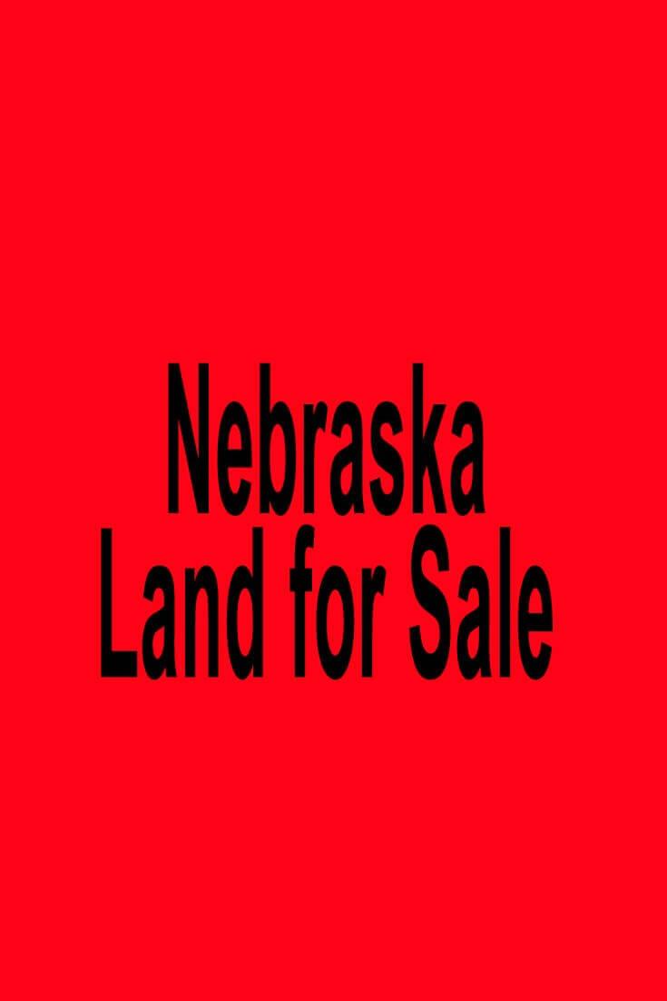 Nebraska Land for Sale