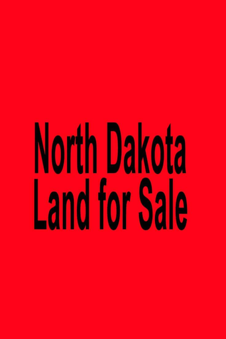 North Dakota Land for Sale