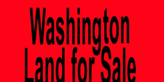Washington land for sale Seattle WA Spokane WA Buy Washington land for sale in Seattle WA Spokane WA Buy land in WA
