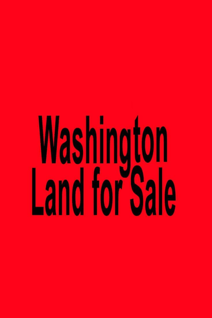 Washington Land for Sale