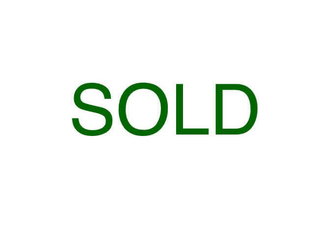 SOLD! Former House – Now Vacant Lot