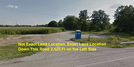 Illinois Agricultural Lot- Roads Illinois Agricultural Lot