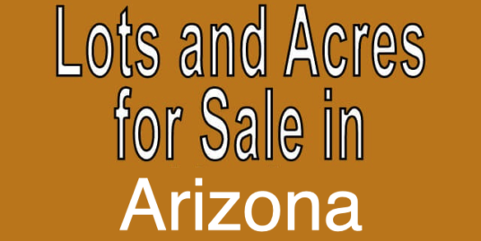 Buy Cheap Land in Arizona