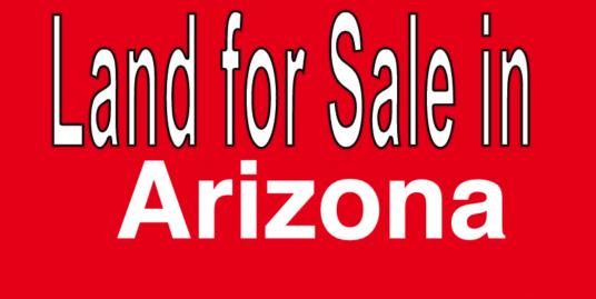 Buy Land in Arizona