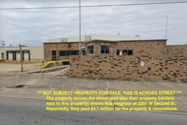 Land for Sale Next to Commercial Building