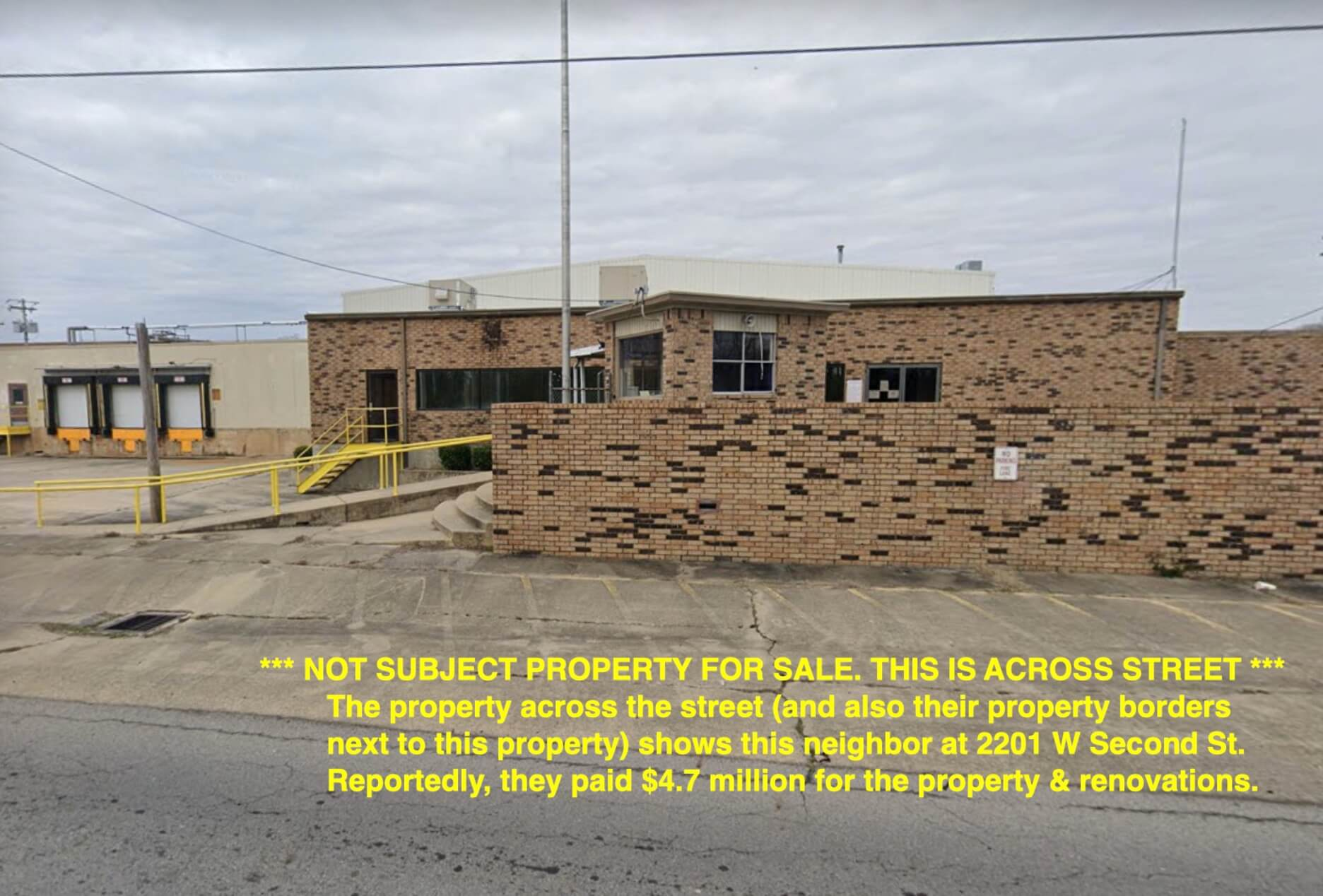 Land for Sale Next to Commercial Building! Land for Sale Only! Next to Building