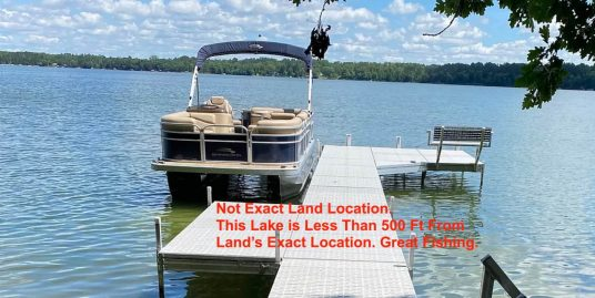Fishing Lot. Recreational Land for Fishing. Go and Fish on Recreational Lot
