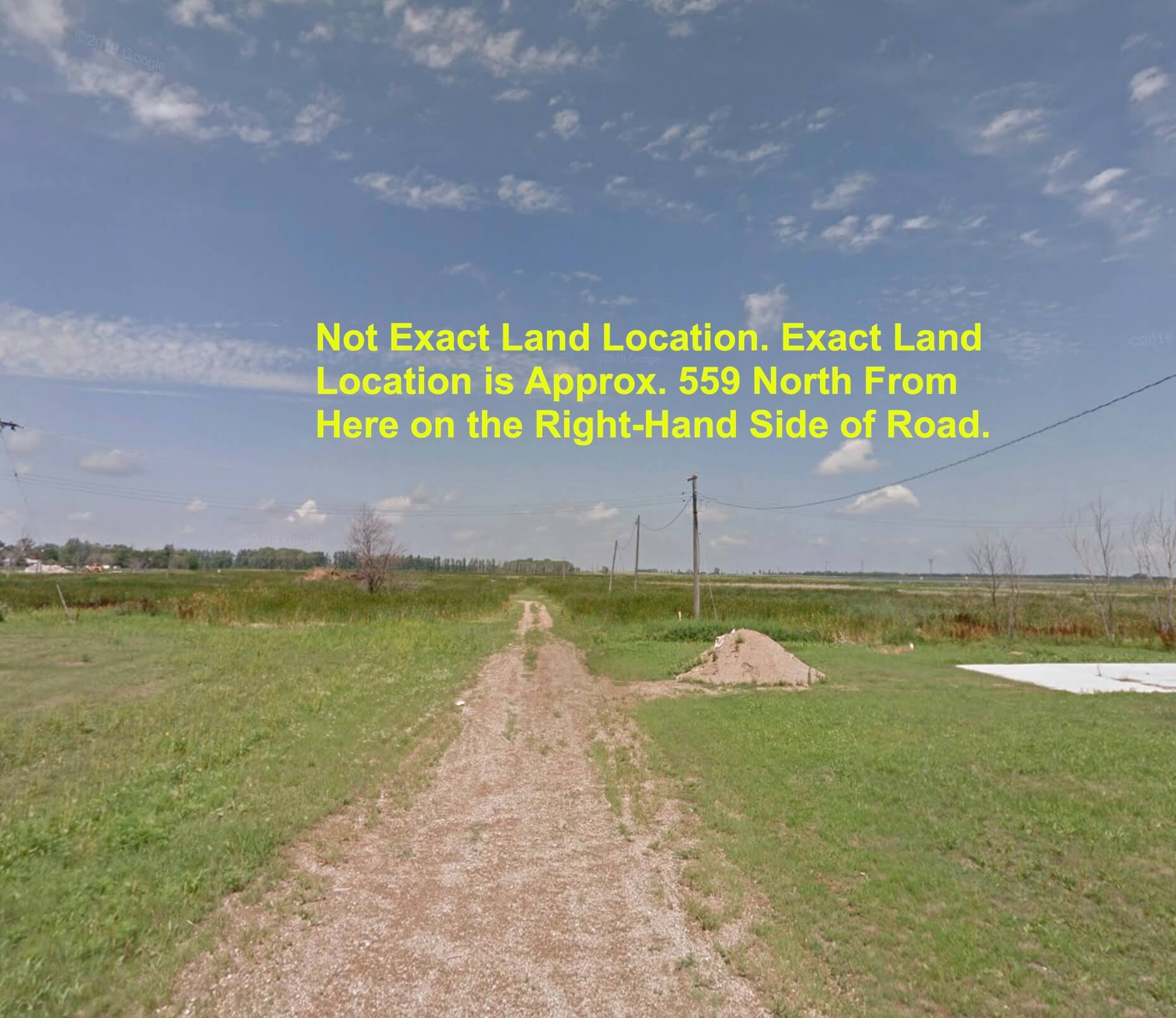 Land Near South Dakota! ND Land Right Near South Dakota. ND / SD Border