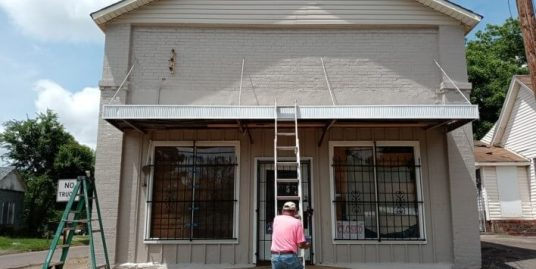 Rehabbed Property- Commercial Bldg and Home! Low Price Per Sq Ft- Rehabbed Mixed Use Bldg Yes